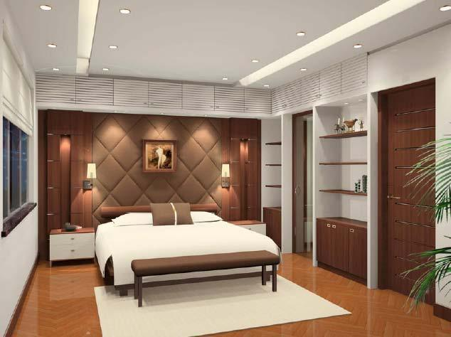 Sp l a Bedroom wall designs in pakistan
